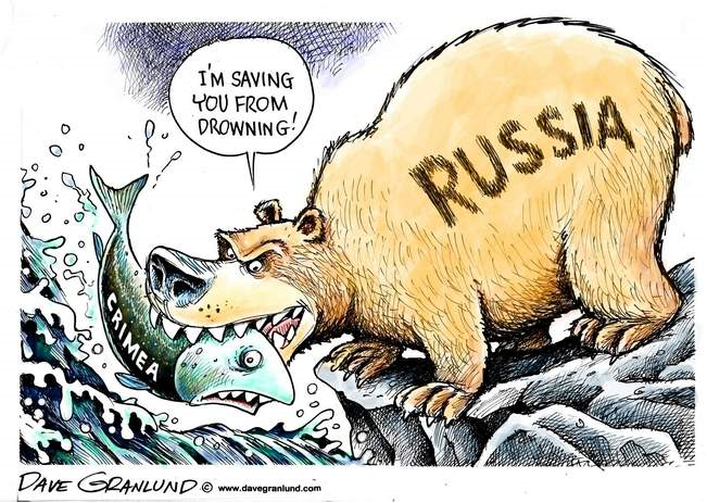 Image result for Russia PHOBIA CARTOON